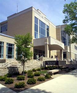 Photo Pyle Center entrance