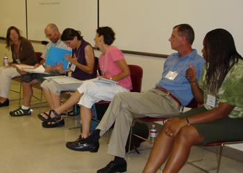 families and careers panel, CP09 workshop