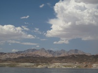 Landscape around Lake Mead
