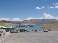 Lake Mead marina/loading dock