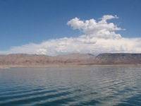 Lake Mead landscape