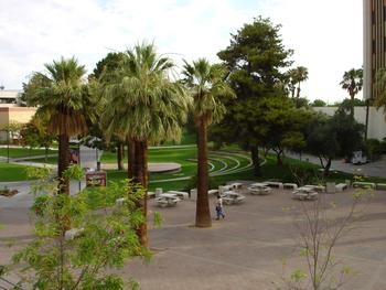 View from the UNLV Student Union