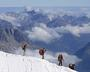 thumbnail image of mountaineers in the French Alps