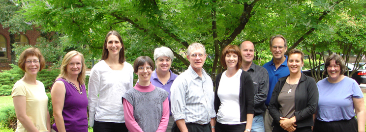 Early Career 2009 workshop leaders