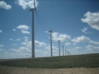 Energy field trip - Seven Mile Hill wind farm 3