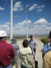 Wind farm field trip discussion 3