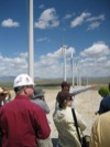 Wind farm field trip discussion 4