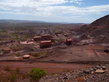 Tom Price Iron Mine -- Pilbara Desert