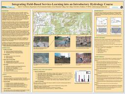 Monitoring The Poultney River: A Service-Learning Project with the Poultney Mettowee Watershed Partnership