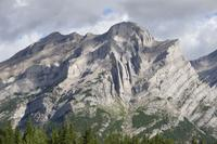 Folds in Kananaskis Valley, Alberta, Canada