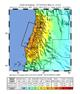 Intensity Shake Map of 2010 Chile Earthquake
