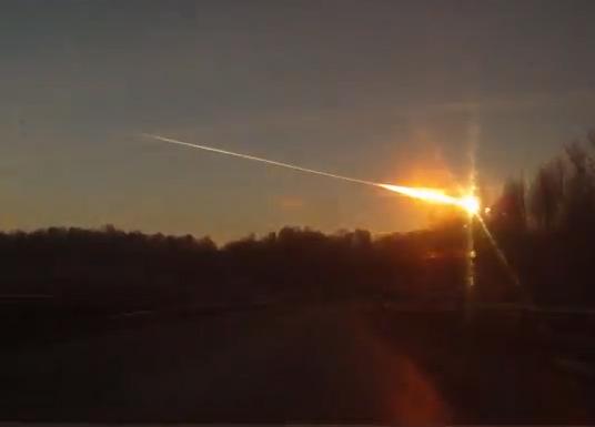 Hasil gambar untuk gambar Meteor Chelyabinsk