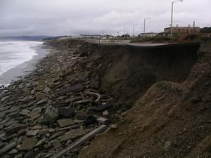 Coastal Erosion Ocean Beach San Francisco