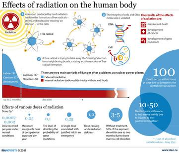 Effects of Radiation on the Human Body