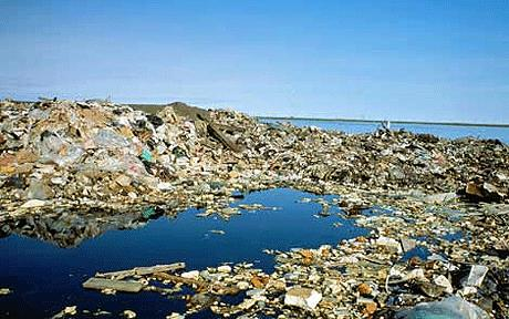 Sea Garbage island