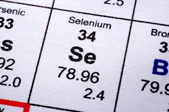 Selenium's chemical signature