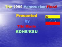 The 1999 Venezuelan Flood Health and human Hazards Associated with it