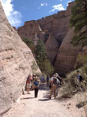 HSG field trip to Tent Rocks