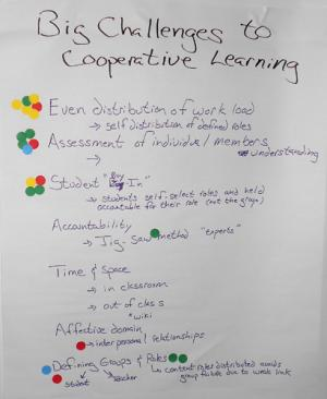 poster 3, collaborative learning session, 2011 MPG workshop