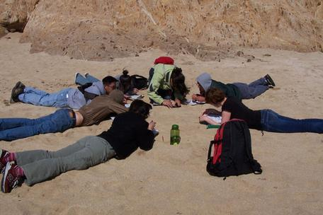 Sand Students