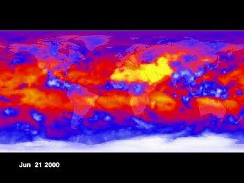 Infrared Emissions from Earth