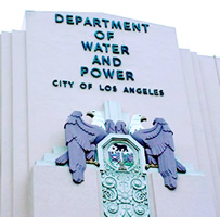 The Los Angeles Department of Water and Power building