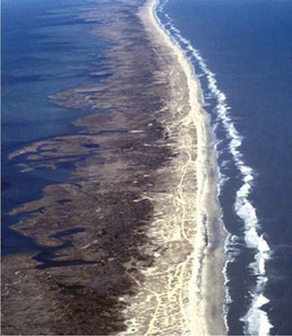 Barrier island, North Carolina