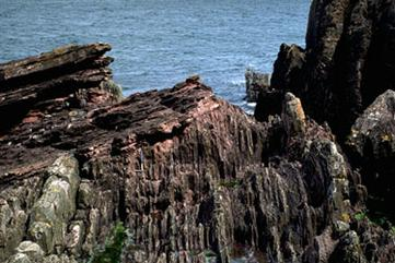 Siccar Point, Scotland