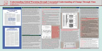 Thumbnail view of poster: Understanding Global Warming through Conceptual Understanding of Change Through Time