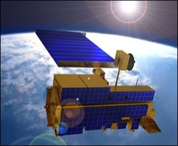Terra Spacecraft in Orbit