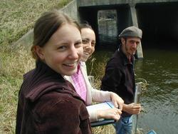 Water project students at Carleton