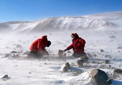 Field Work in Antarctica