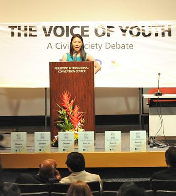 The Voice of Youth: A Civil Society Debate