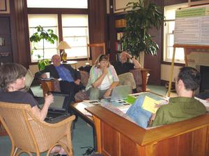One of the working groups