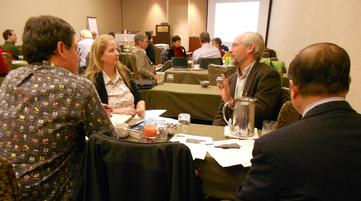 Discussion at the 2012 AGU Heads and Chairs workshop