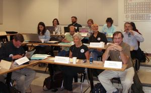 Participants at the 2007 recruitment strategies workshop