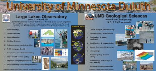 Recruitment poster for UMD Geology