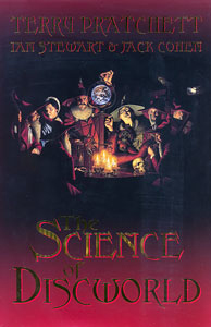 Book cover:  Science of Discworld