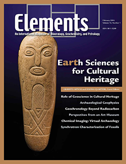 Elements Magazince cover February 2016 – Volume 12, Number 1