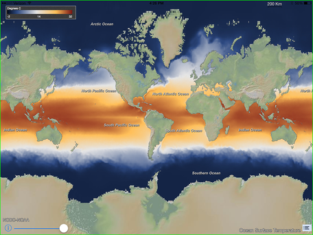 Sea surface temperature
