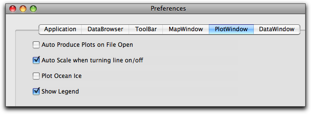 Preference window in EVA to show auto produce plots off