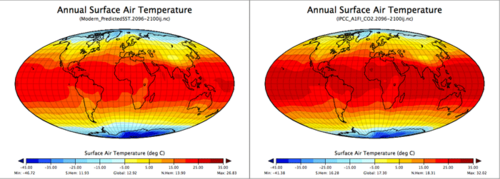 surface air temp map pair
