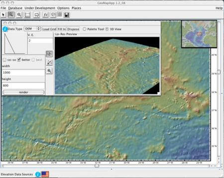 Mid-Atlantic Ridge 3D
