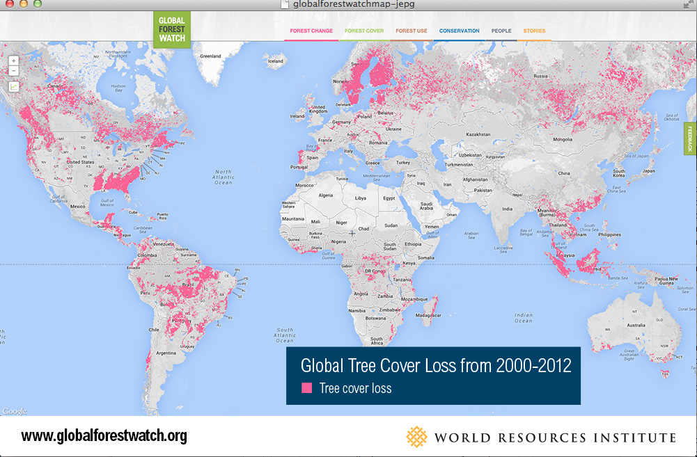 Global Forest Watch  from World Resource Institute: