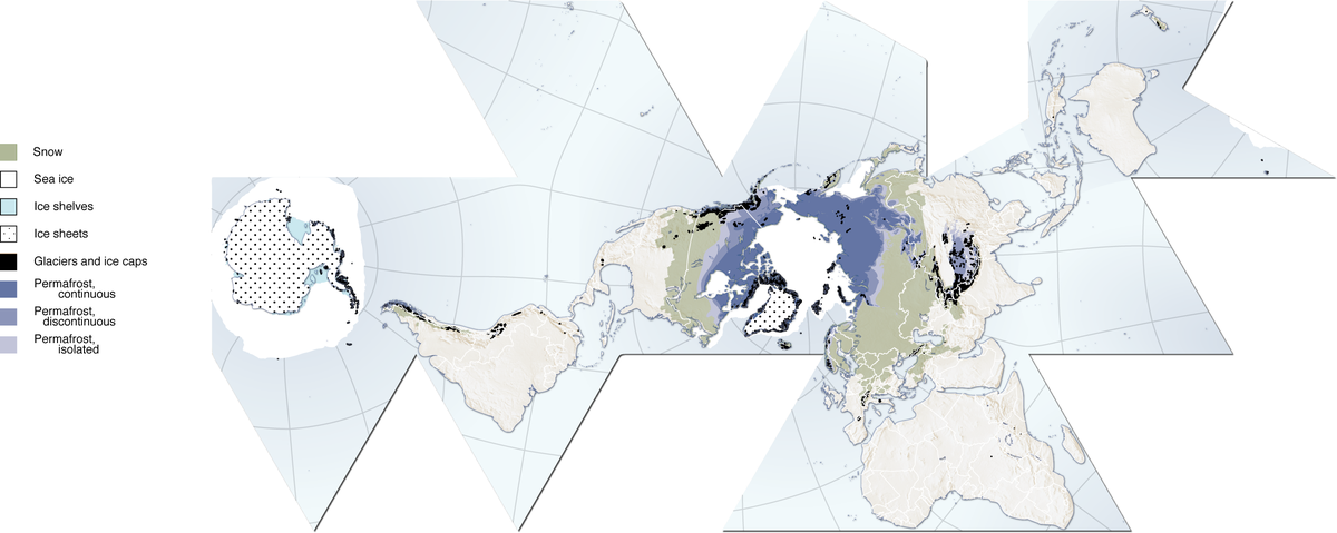 Cryosphere Map
