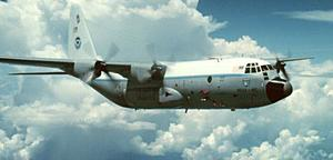 Cloud seeding C-130