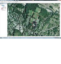 screen shot of ArcMap project
