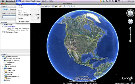 File_Open_Google_Earth
