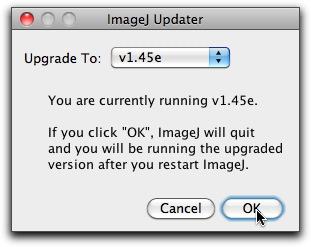 Update ImageJ Software
