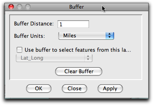 buffer window only